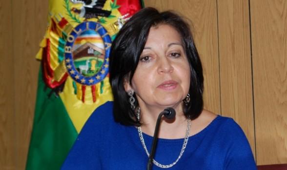 Ministra Bolivana 1