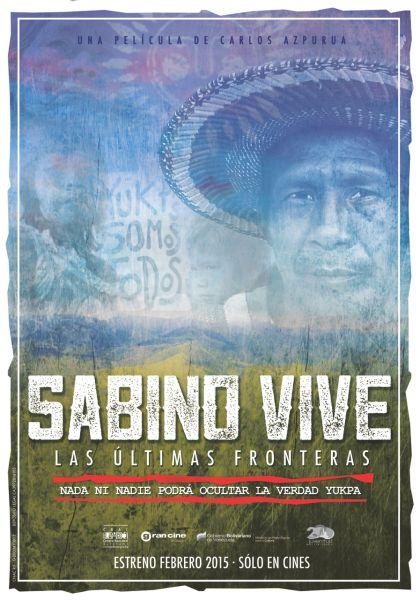 Teaser del afiche SABINO VIVE (definitivo)