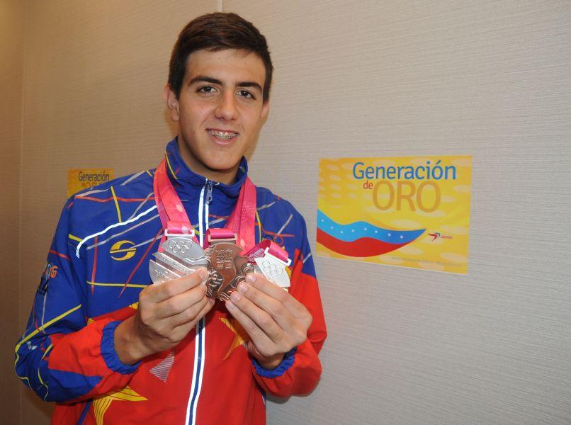 Carlos Claverie ganó oro en el Grand Prix