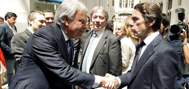 Jose Maria Aznar y Felipe Gonzalez