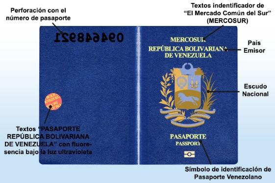 Nuevo pasaporte venezolano 1