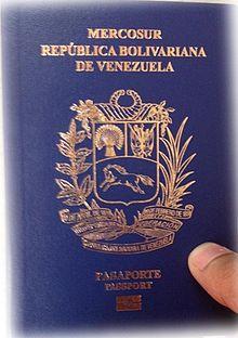 Nuevo pasaporte venezolano 2