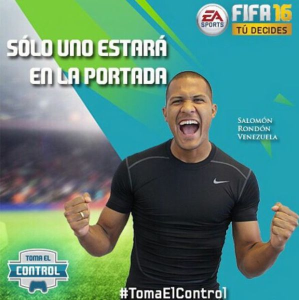 Salomon rondon Portada