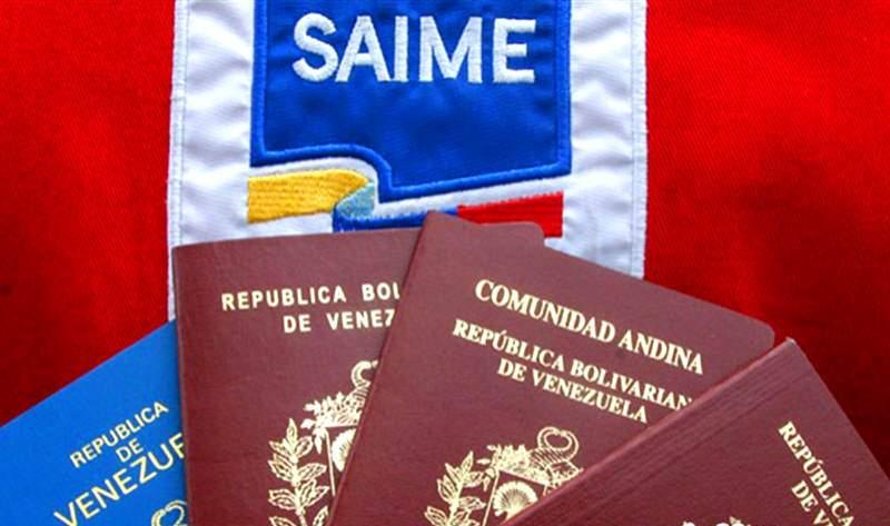 saime pasaportes 1