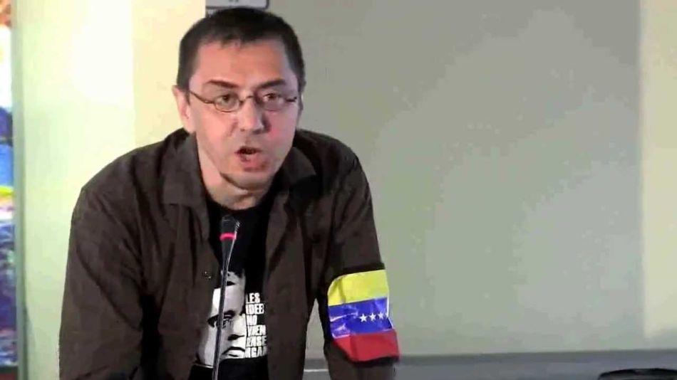 Juan Carlos Monedero Venezuela