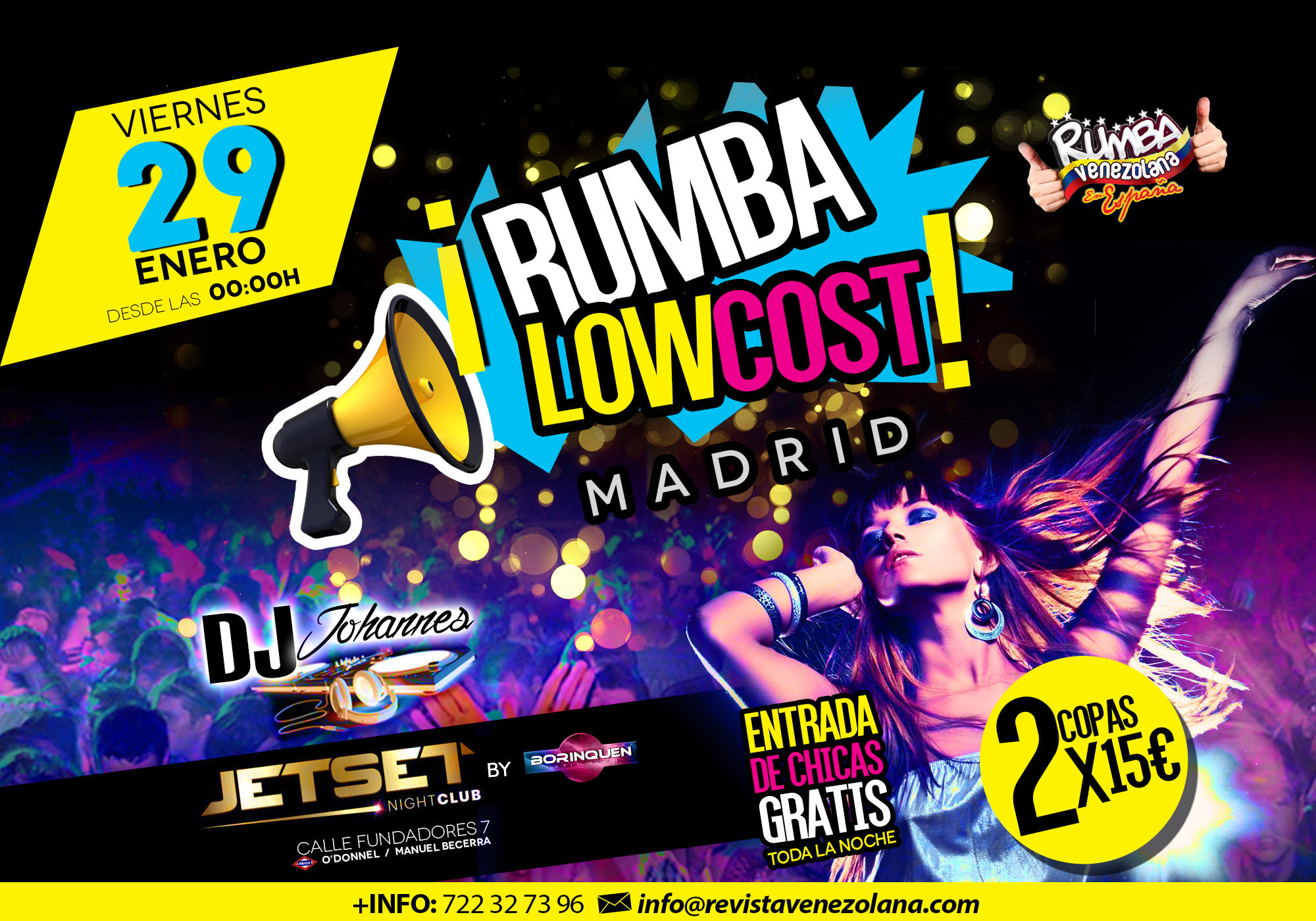 Rumba Low Cost - Banner web