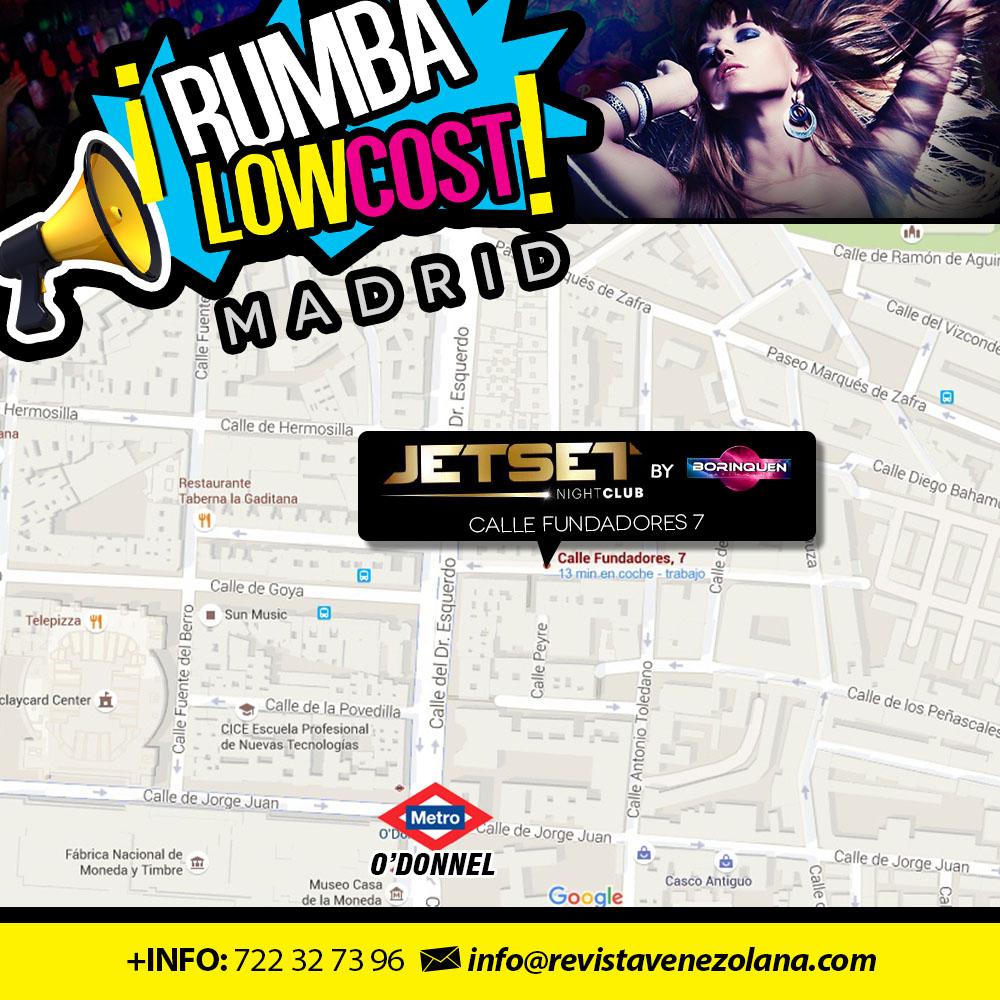 Rumba Low Cost - Mapa