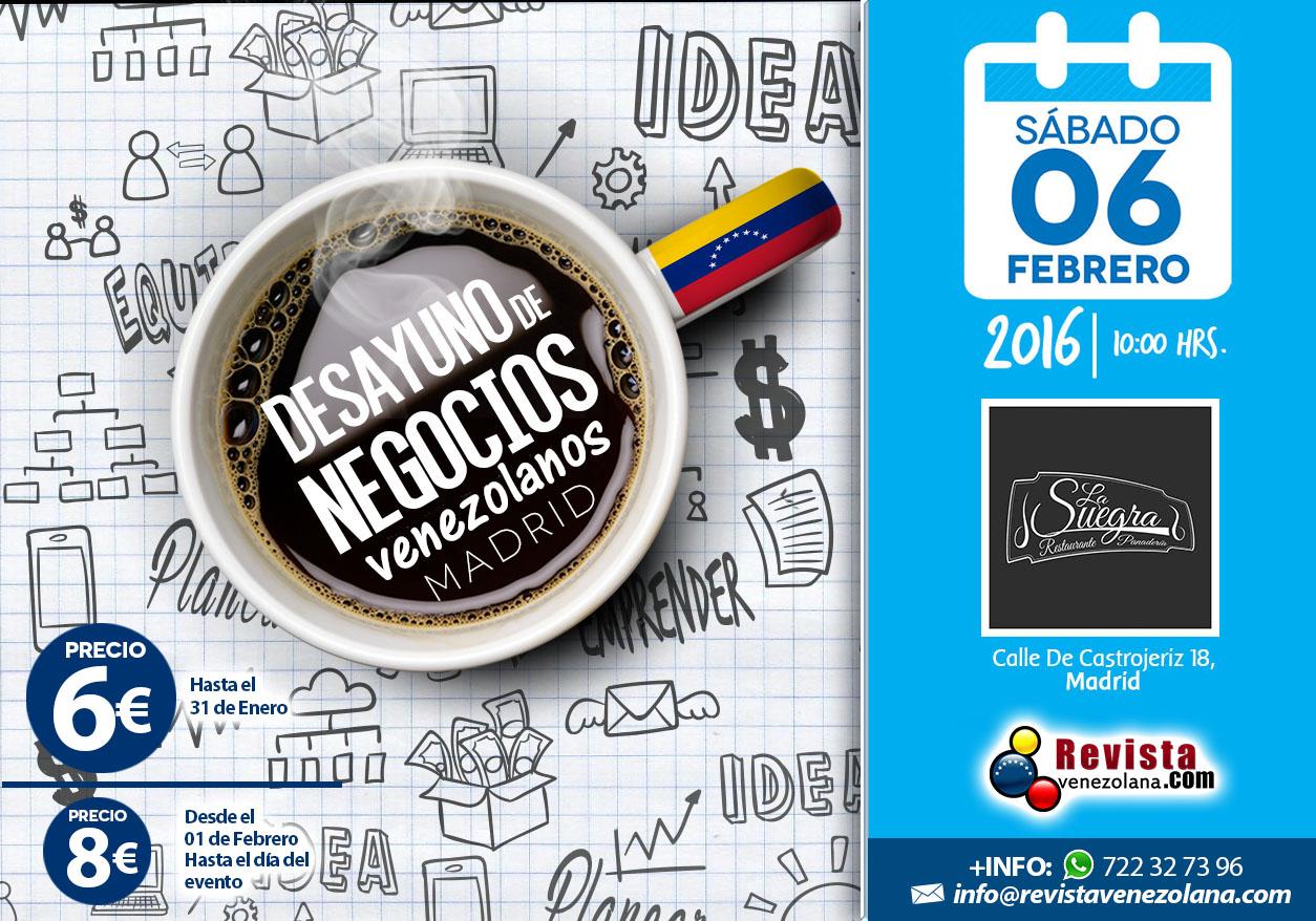 Desayuno de Negocios 2015 banner web