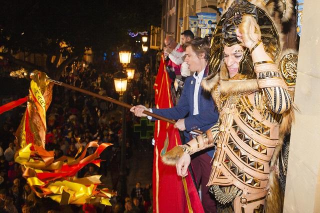 El cantante Carlos Baute pregonero en el carnaval de Águilas, Murcia 06/02/2016 Águilas