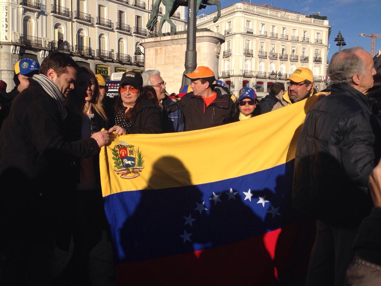 Venezolanos en Madrid 2