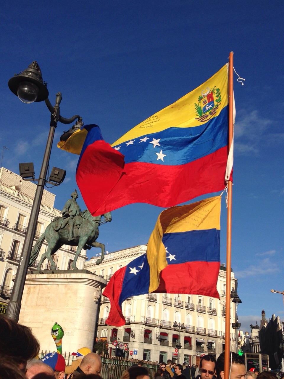 Venezolanos en Madrid 3