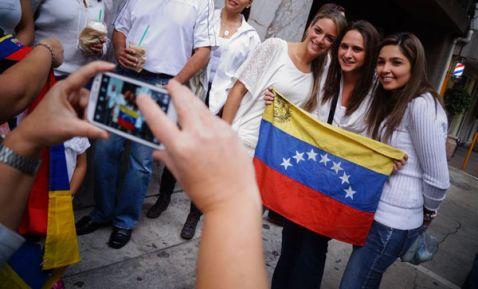 Venezolanos en Mexico