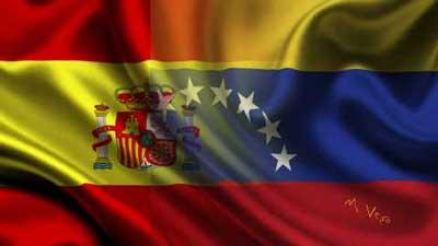 bandera-españa-venezuela
