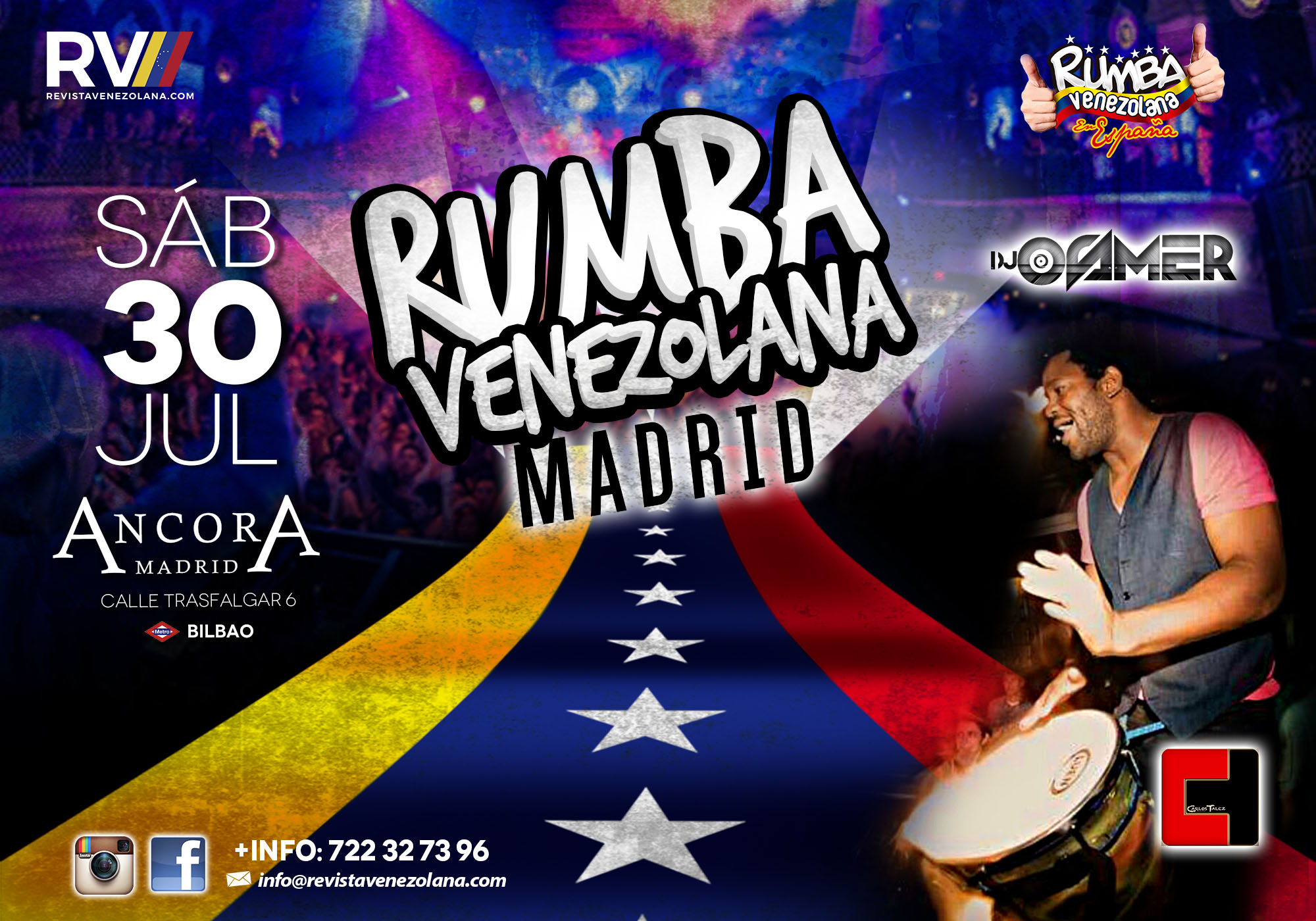 Rumba 30 Julio - banner web