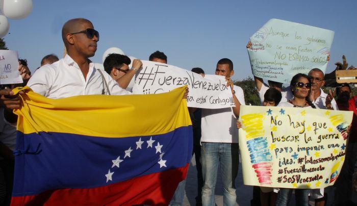 protestas_de_venezolanos_en_barranquilla