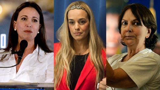mujeres-oposicion-venezuela