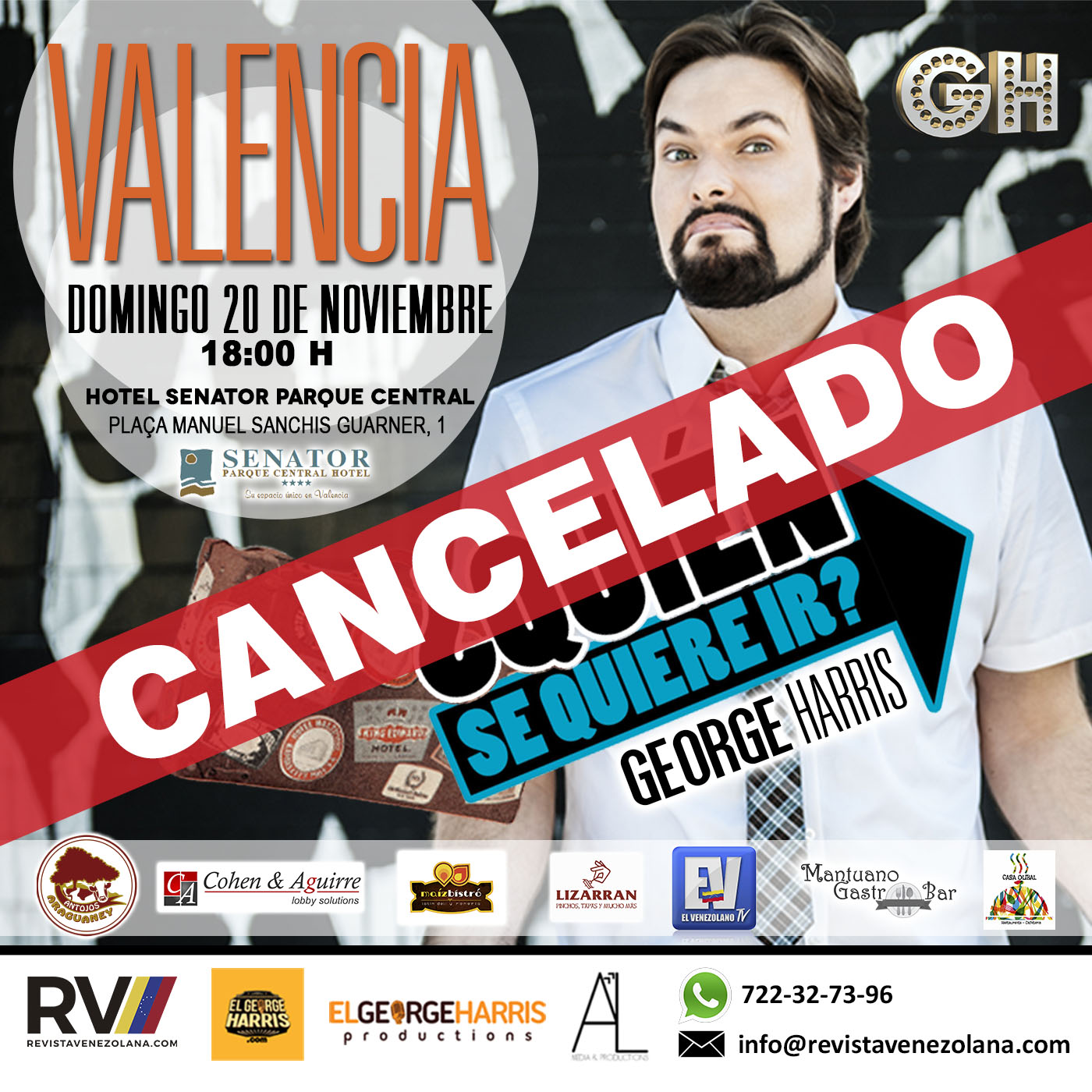 george-harris-instagram-valencia-cancelado