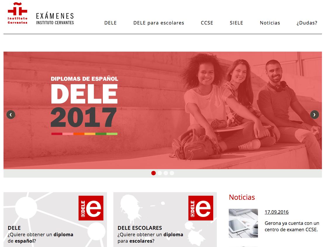 Portal del Instituto Cervantes