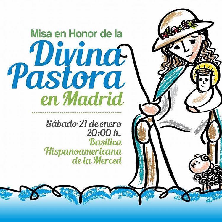 Misa por la Divina Pastora en Madrid