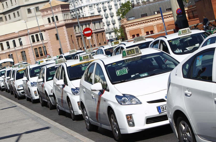 Huelga Taxi madrid 27 julio