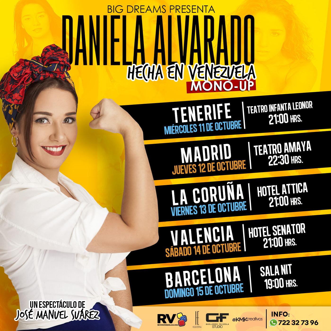 Hecha en Venezuela Monologo Daniela Alvarado
