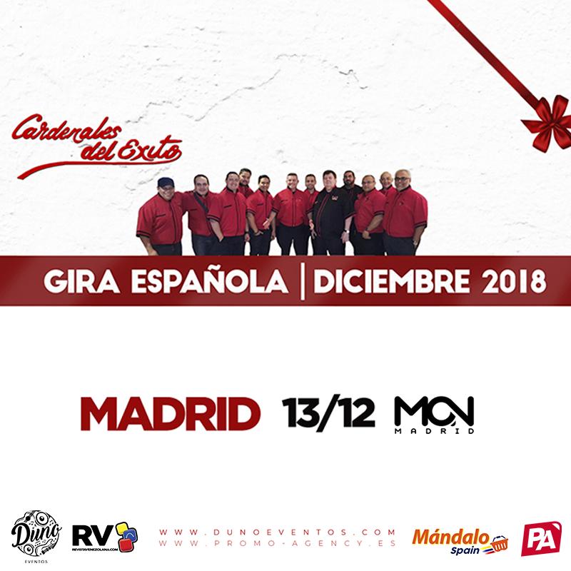 Cardenales del Éxito en Madrid